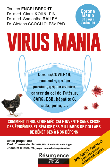 Virus Mania Frontcover_French